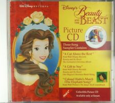 Disney Beauty and the Beast Picture CD Three Song Sampler