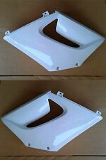 Honda CBR125 R Front Side Fairing Cowl Panel Left Right Set White 2004-2007