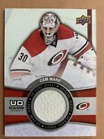 2015-16 Upper Deck SR2 Hockey UD Game Jersey #GJ-CW Can Ward Carolina Hurricanes