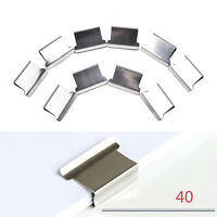 Business Mini Metal Paper Clipper School Office Accessories Supplies Stationery!
