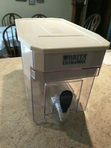 Brita Ultramax White Filtered Water Dispenser