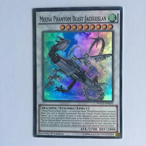 Yugioh Mecha Phantom Beast Jaculuslan x1-Super Rare-WSUP- EN034 - N/M - 1st.Ed.