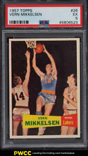1957 Topps Basketball Vern Mikkelsen SP ROOKIE RC #28 PSA 5 EX (PWCC)