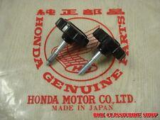 "New listing Honda Benly 125 Cs92 Latch Tool Box , Side cover "" Hm logo "" , 2pcs. / Japan"