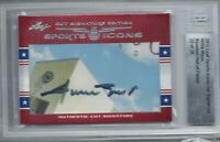 WILLIE MAYS 2011 LEAF SPORTS ICONS CUT SIGNATURE AUTO AUTOGRAPH #22/28 BGS