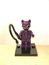Minifigure CATWOMAN compatibile LEGO custom MOC - Batman DC Comics