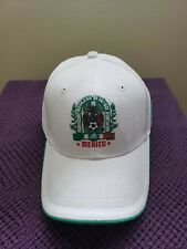Mexico White Golf Adidas Hat - with Velcro Back Strap