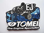 TOMEI JAPAN SILICONE RUBBER KEYCHAN FOR SUBARU EJ ENGINE - 765008
