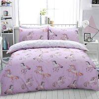 Paintly Unicorn Duvet Cover Set Bedding Pillowcase Single Double King