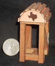 Dollhouse Miniature Western Texas Leather Horse Saddle Stand 1:12 Cowboy Western
