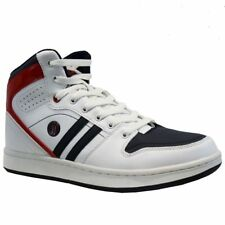High Top Mens Safety Shoes / Trainer, Safety Toe. HTBT326 White. Size 8 / EU 42