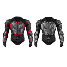 Motorcycle Armor Jacket Full Body Motocross Racing Arm Chest Protector Gear