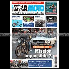 LA VIE DE LA MOTO LVM N°822 FANTIC 50 125 CHOPPER ★ NORTON ROTARY, ALFREDO TALIN