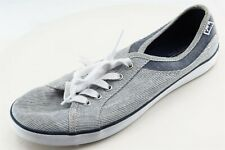 Keds Size 7.5 M Gray Lace Up Fashion Sneakers Fabric Shoes