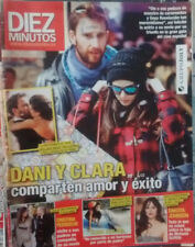 SPANISH DIEZ MINUTOS MAGAZINE:DANI ROVIRA / CLARA LAGO / DAKOTA JOHNSON / YURENA