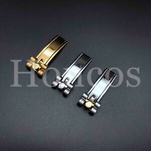 16 MM Deployment Buckle Clasp Clips for Rolex President Bracelet Band Lug 20 MM