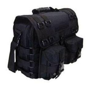 Black Military Special Forces Tactical Laptop Tablet Kindle Bag Case