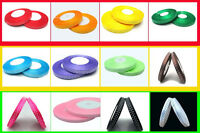Free shipping  3/8(10mm)50yds  satin ribbon for making bows dot U PICK