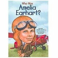 Who Was Amelia Earhart? by Kate Boehm Jerome (2003, Hardcover)