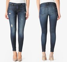NWT Hudson Jeans Nico Mid Rise Super Skinny Escape Studded Size 27 Retail $245