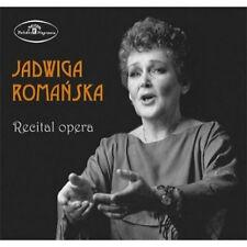 CD JADWIGA ROMAŃSKA soprano  Recital opera  ROMANSKA