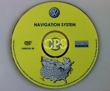 2006 2007 VW VOLKSWAGEN GTI EOS GOLF GLS TDI NAVIGATION MAP CD DVD US CANADA OEM