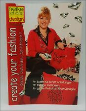 Motivvorlagen Legevorlagen Motivvorlagenbuch A4 Heike Schäfer Fashion Neuware