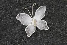 10 petits papillons blanc, décoration de mariage.