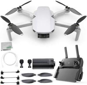 NEW DJI Mavic Mini Portable Quadcopter Drone FlyCam 2.7K 3-Axis Gimbal GPS Gray