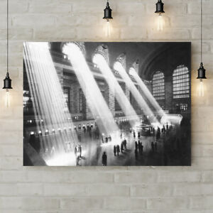 Grand Central Station New York - 1913 - Canvas Wall Art Rolled Print