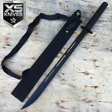 "27"" BLACK Japanese Samurai Ninja Sword With Nylon Sheath"