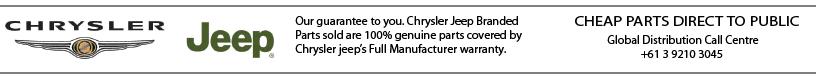 Chrysler Jeep Automotive Parts