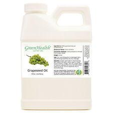16 fl oz Grapeseed Carrier Oil (100% Pure & Natural) Plastic Jug