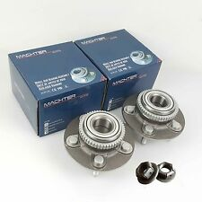 2 Genuine Machter for Ford Falcon Front Wheel Bearing Hubs with Nuts AU/BA/BF