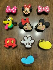 All Things Mickey 10 pcs Shoe Charms Bracelet Charms