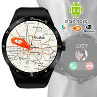 Android 4.4 Watch & 3G Unlocked Phone + WiFi + Bluetooth 4.0 + GPS + Google Play