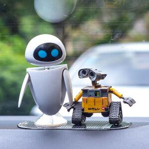 Cute Statue Car Dashboard Ornaments Robot Interior Decoration Console Decor