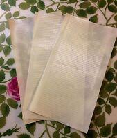 1/2/5/10 x High grade Cricket Bat Fibre Anti Scuff Face Protection sheet