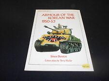 OSPREY VANGUARD 27, ARMOUR OF THE KOREAN WAR 1950-53 by SIMON DUNSTAN