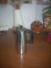 caffettiera pressofiltro 3 tazze ALFA acciaio 18/10  made in italy. funzionante