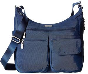 Baggallini Everywhere Blue Crossbody Shoulder Bag B2524