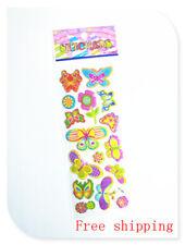 1sheet 3D Butterfly WALL STICKER SET DECOR ART KIDS DECAL Stickers lot gift 2018
