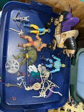 vintage Action Figure Lot He-man Masters Of The Universe Motu
