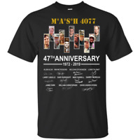 Mash 4077 47th Anniversary 1972-2019 Signature Men T-Shirt S-6XL