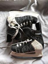 New listing Ccm Powerline Youth Kids Sz 12J Black Blades Sport Hockey Ice Skates