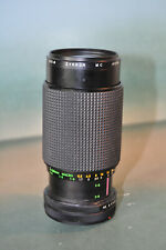 Zykkor 80-200mm f/4.5 zoom lens for Canon FD mount