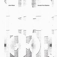 "John Wiese ""Deviate From Balance"" CD Sissy Spacek Gilgongo Records"