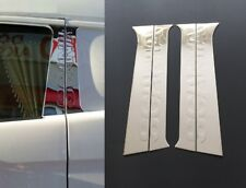 Mirror Polished Stainless Steel Chrome Door Pillar Covers for Scania R 5-series