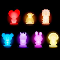 BTS BT21 Official Authentic Goods Smart Lamp 7Characters by Line Friends