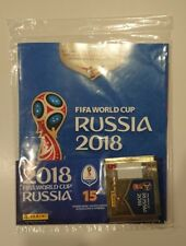 Panini 2018 World Cup Russia Sticker Album USA EDITION + BLANK BARCODE PACKET